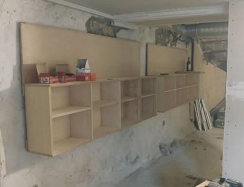 Umbau Hofladen geht vorwärts