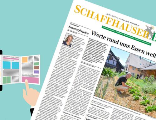 Front-Bericht im Schaffhauser Bauer